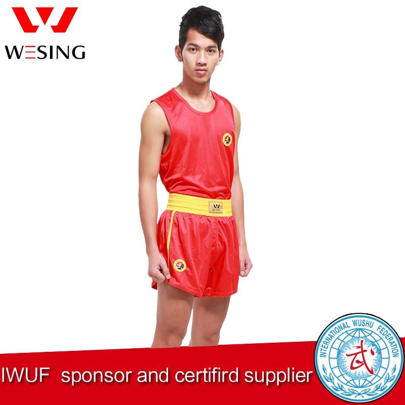 Prix pour Wesing arte marcial adulte sanshou costume sanda costume pour competetion et formation martiaux art costume
