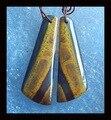Ferro tigre brinco de pérola, 36 x 12 x 5 mm, 6.34 g