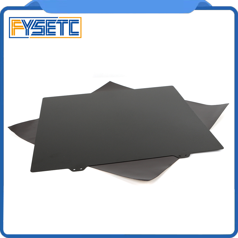 300x300mm Double Sided Textured PEI Spring Steel Sheet Magnetic B Plate Build Sheet For Creality CR