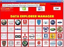 ECU SCP Data Explorer Manager Full + crack