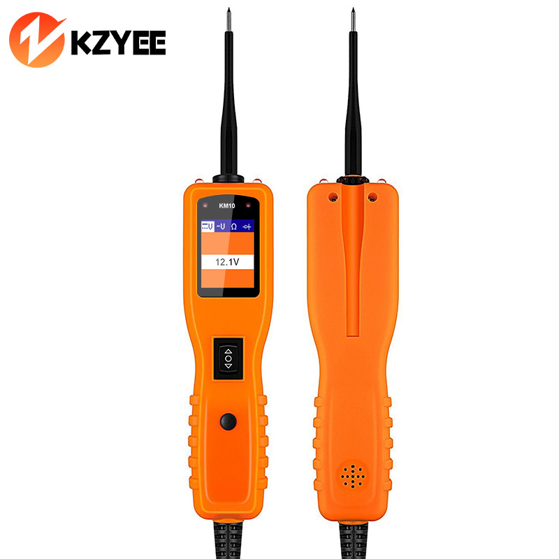 KZYEE Powerscan KM10 Circuit Diagnostic Tester Car Electronic Multimeter Repair Tool PK PS100 OS2600 YD208 PT150 Power Scan Tool yd208 circuit tester electrical tester test diagnostics tool