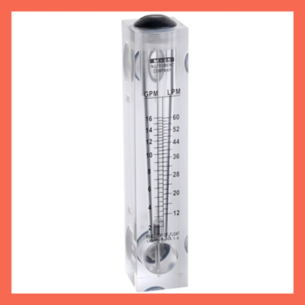 LZM-25(2-16GPM/12-60)LPM flowmeter(flow meter) without control valve lzm25 panel/liquid flowmeters Tools Measurement  Analysis lhll 1 2 pt thread 0 05 0 5gpm 0 2 2lmp water liquid flow meter flowmeter