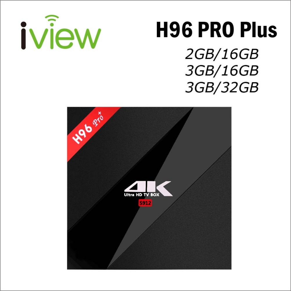 Smart Tv Box H96 Pro Plus Android 7.1 Amlogic S912 Octa Core 1000 M Ethernet Bt4.1 Kd17.6 H.265 4 K Ultra Hd Netflix Tv Box Sparen Sie 50-70% Unterhaltungselektronik