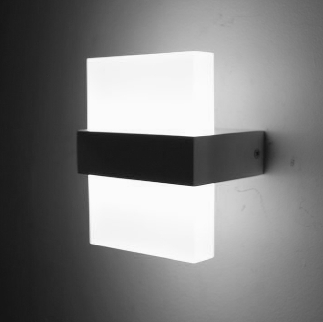 Led Wall Light Pictures : Modern 6W LED Wall Light Bedroom Bedside Lamp Luminaria Led Wall Lights For Home Led Stair Light ...