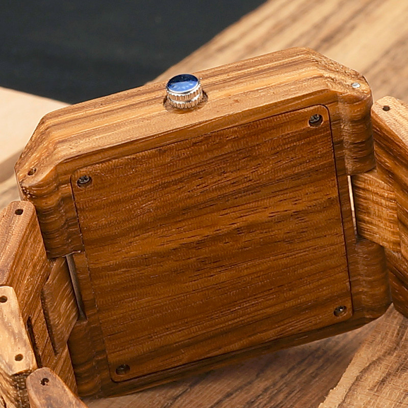 Men's Wood Watches with Wooden Gift Box