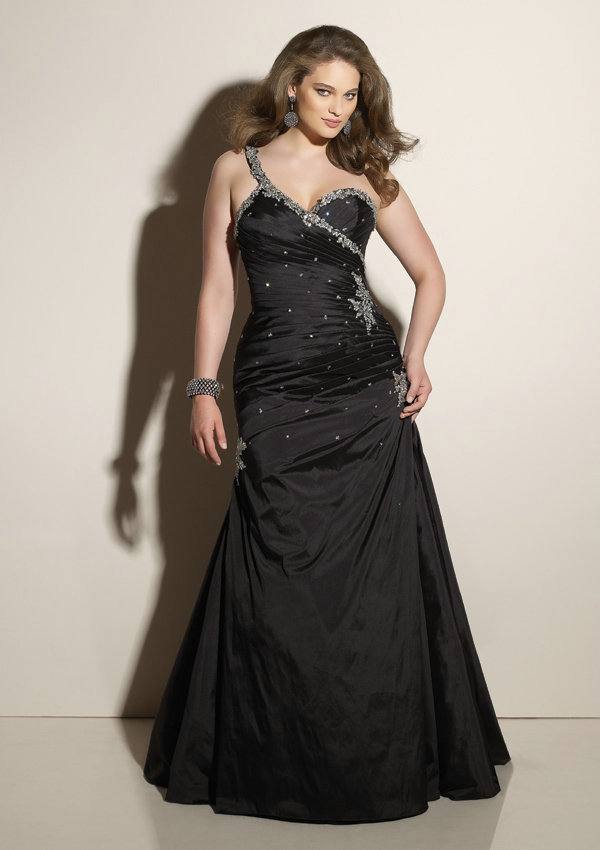 black mermaid designer vestido de festa long satin big girl sexy ...