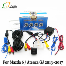 Laijie Car Rear View Camera For Mazda 6 Mazda6 / Atenza GJ 2013~2017 / HD CCD Night Vision Car Reversing Parking Camera NTSC PAL