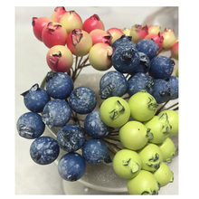 40PCS 10mm High Fruit Stamen Small Berries Used For DIY Gift Decorative Accessories(China)