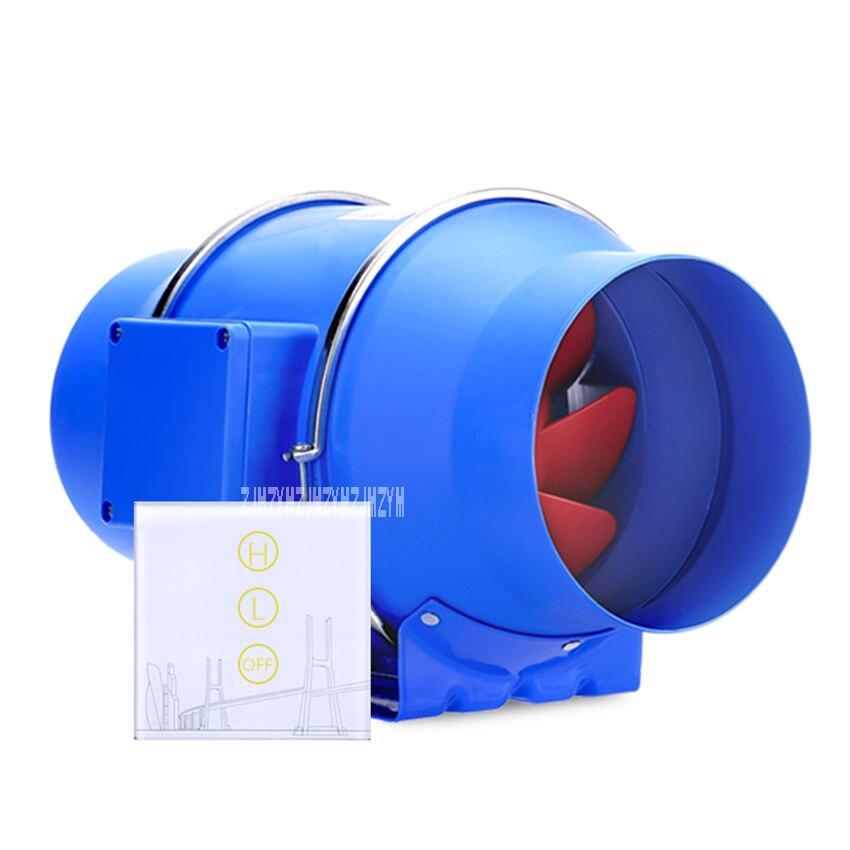 HF-150P Toilet Kitchen 6 Inch Pipe Ventilator Duct Fan Ventilator Wireless Controller 2-Gear Adjustment Extractor Fan 220VHF-150P Toilet Kitchen 6 Inch Pipe Ventilator Duct Fan Ventilator Wireless Controller 2-Gear Adjustment Extractor Fan 220V