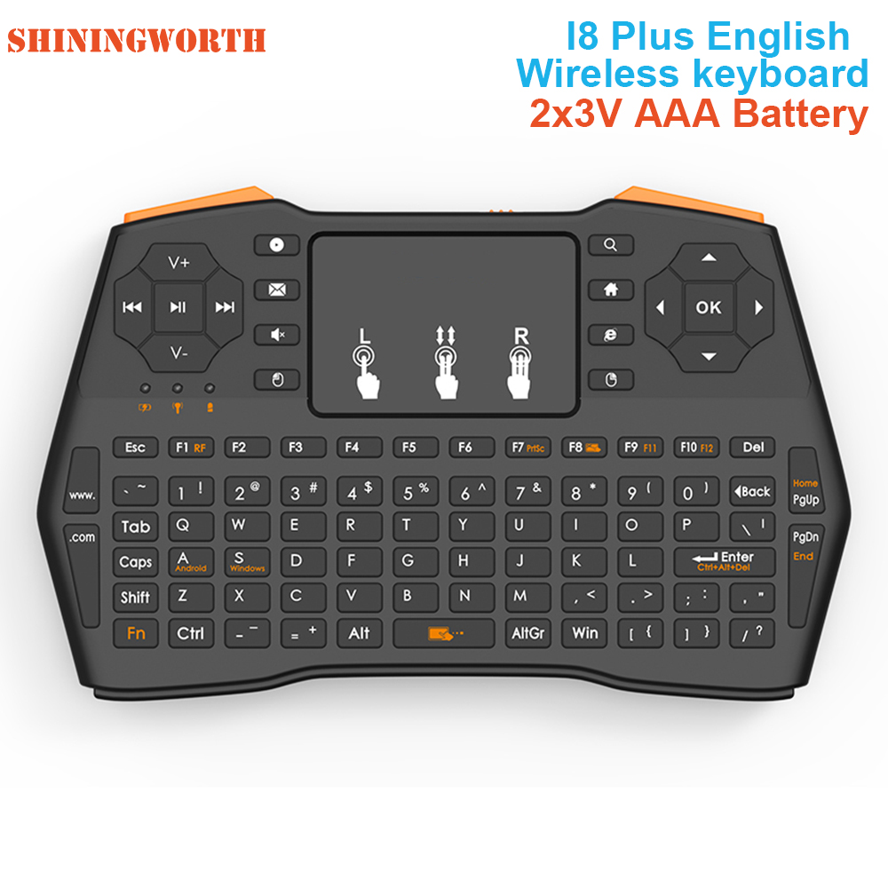 Remote Control with Rechargable Li-ion Battery for Samsung M5000 40 2.4GHz Mini Mobile Wireless Keyboard with Touchpad