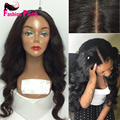 Natural Hairline Silk Top Full Lace Wigs Virgin Indian Human Hair Glueless Lace Front Wig Silk Base Lace Wigs For Black Women