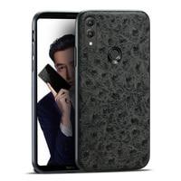 Brand Ostrich Grain Full wrapped Phone Case For Huawei Honor 9 10 V9 V10 Note 10 Phone Case Full Handmade Custom Processing