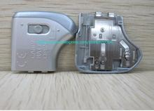original silver A530 door cover for canon camera A530 battery cove repair parts free shipping(There are flowers mark)