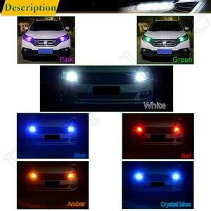 Image 5 - Автомобильный светодиодный светильник T10 W5W, 2/4 шт., 12 в, 194, 168, 2825, лампа s, силиконовая, Cob, автомобильная интерьерная лампа, желтый, оранжевый, красный, белый