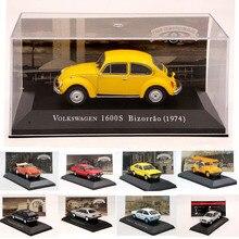 IXO Алтая 1:43 Масштаб V ~ W Gol/1500 1982/Voyage/Bizorrao/Gol/Santana/Passat/Fusca/Saveiro Diecast модели игрушечных автомобилей Коллекция