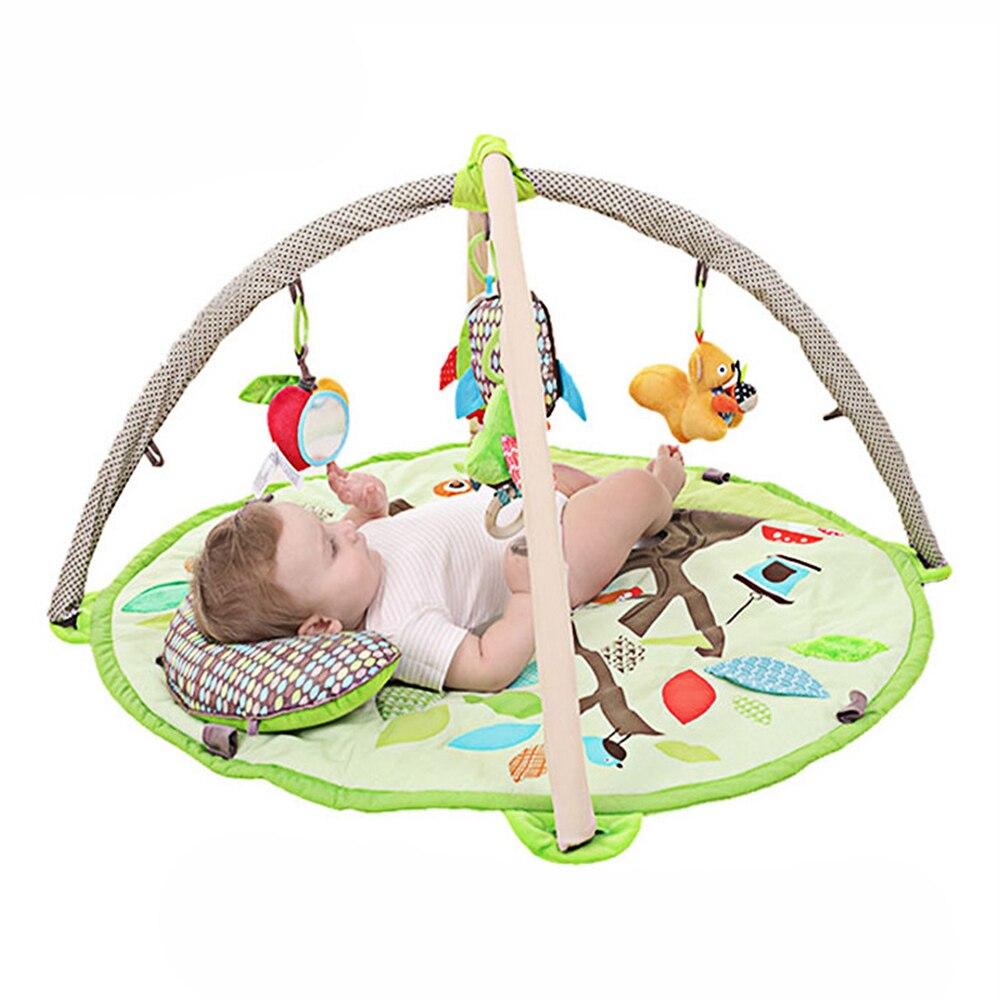 Babelemi bande dessinée animaux de la forêt doux bébé tapis de jeu enfants tapis garçon fille tapis de jeu tapis enfants jouet éducatif