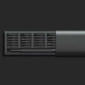 Image 5 - Xiaomi mijia wiha kit de 24 parafusos, kit de 24 parafusos, 100% xiaomi mijia wiha, chave de fenda, precisão magnética, caixa de alumínio, xiaomi casa inteligente, kit