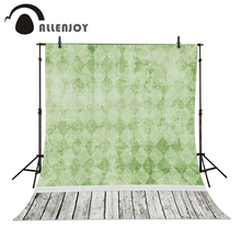 Allenjoy photography baby backdrops Background fresh green plaid vinyl photography backdrops photo studio 5x7ft 150x220cm