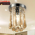 Modern Ceiling Lights crystal Lampshade E14 Aisle Corridor lamparas de techo living Bedroom room plafonnier led moderne lamp