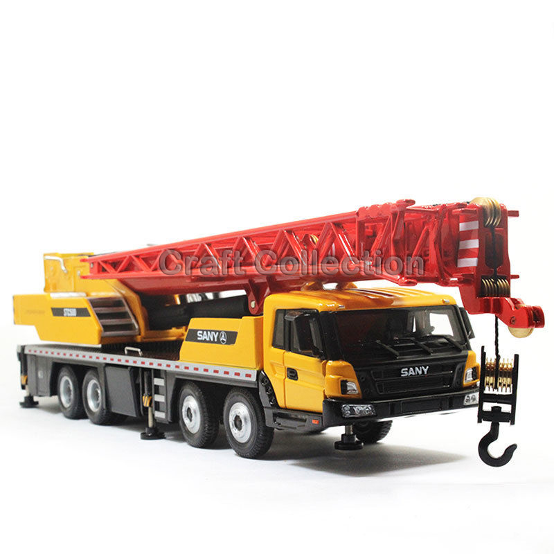 1/43 SANY STC500 TRUCK CRANE Diecast Truck Model Recovery Vehicle