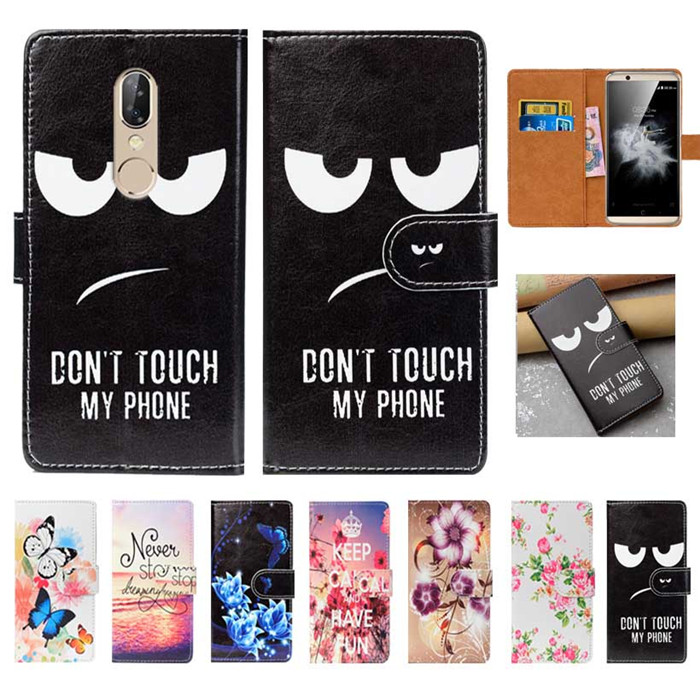 For ZTE Axon 7s Case High Quality Pu Leather 5.5 Flip Wallet Case Back Cover Book Case For ZTE Axon 7s Cases