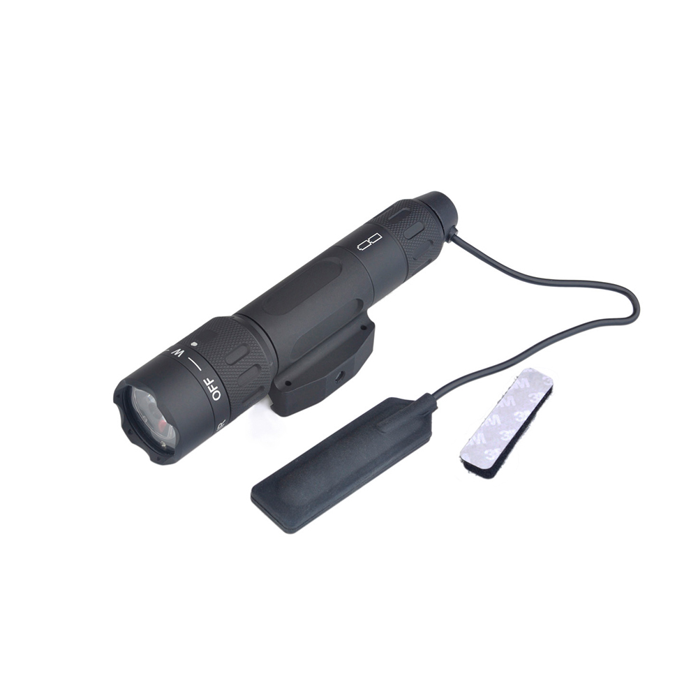 Airsoft WMX 200 Tactical Weapon Light With Picatinny RIS Rail Remote Tail Switch