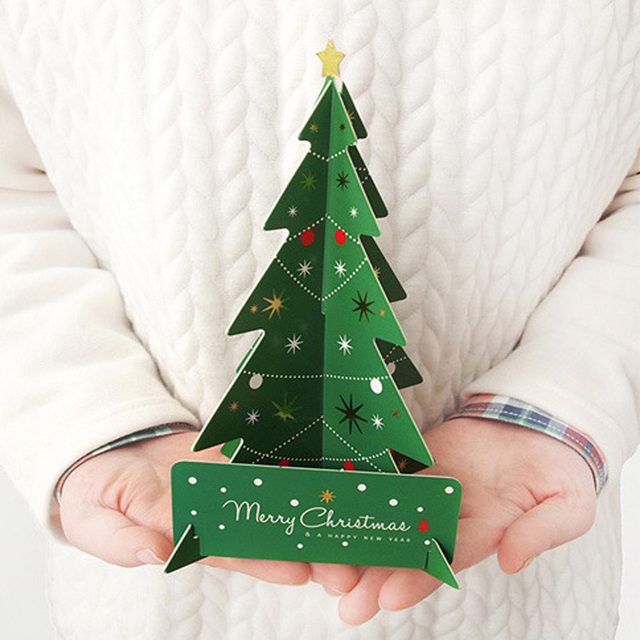 Aliexpress.com : Buy Diy 3d Christmas Cards Handmade Christmas ...