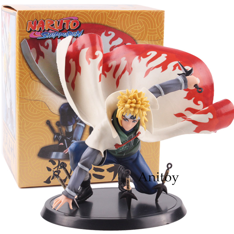 Naruto Figure Shippuden Namikaze Minato PVC Action Figure Collectible Model Toy 15cm KT4804 hot anime naruto 4th hokage namikaze 6 action figure collectible pvc model gift toy