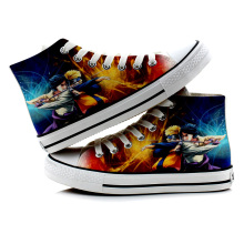 Anime Naruto Canvas Printed Fashion Shoes (6 Designs)
