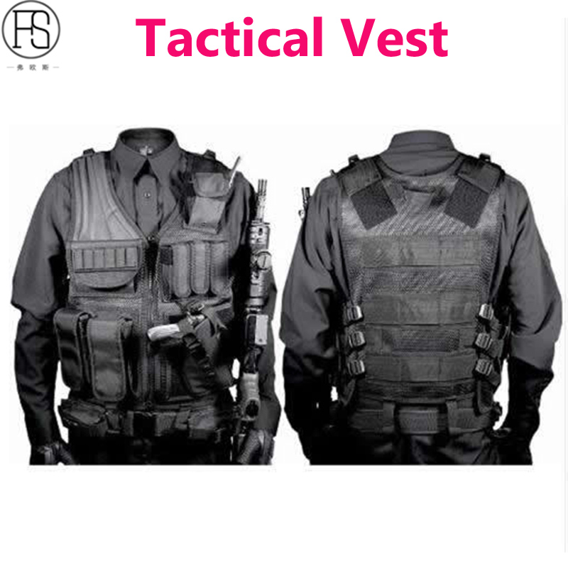 Tactical Vest Army Military Equipment Airsoft Hunting Vest Training Paintball Outdoor Sport CS Wargame Combat Protective Vest hot selling jiepolly military vest four in one tactical vest top quality nylon airsoft paintball combat assault protective vest