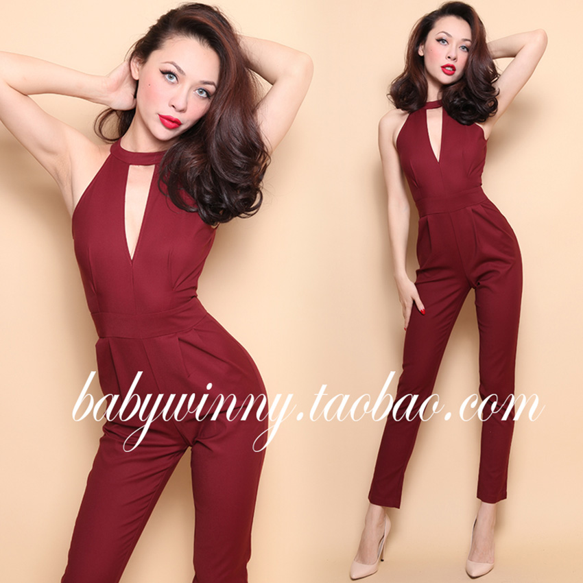 Popular All Red Jumpsuit-Buy Cheap All Red Jumpsuit lots from ...