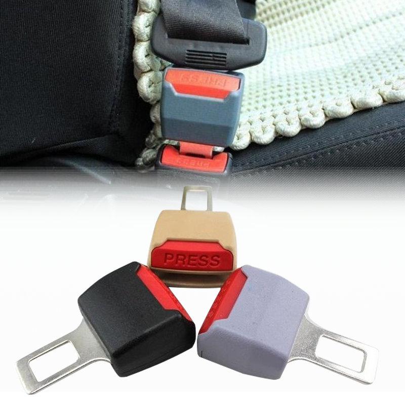 2pcs lot 2016 general car safety belt buckle adjustable seat belt clip seat belts buckles. Black Bedroom Furniture Sets. Home Design Ideas