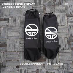 Водонепроницаемый холст скейтборд сумка Лонгборд рюкзак Fishboard сумки спортивный рюкзак для скейтборда палубе