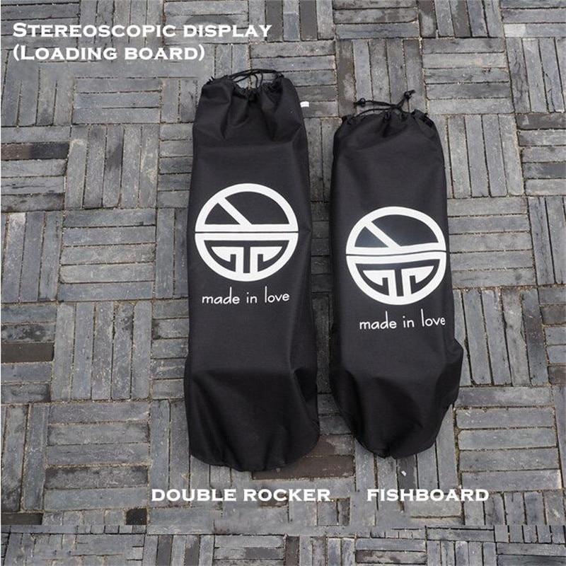 Waterproof Canvas Skateboard Bag Longboard Backpack Fishboard Bags Sports Backpack For Skateboard Deck