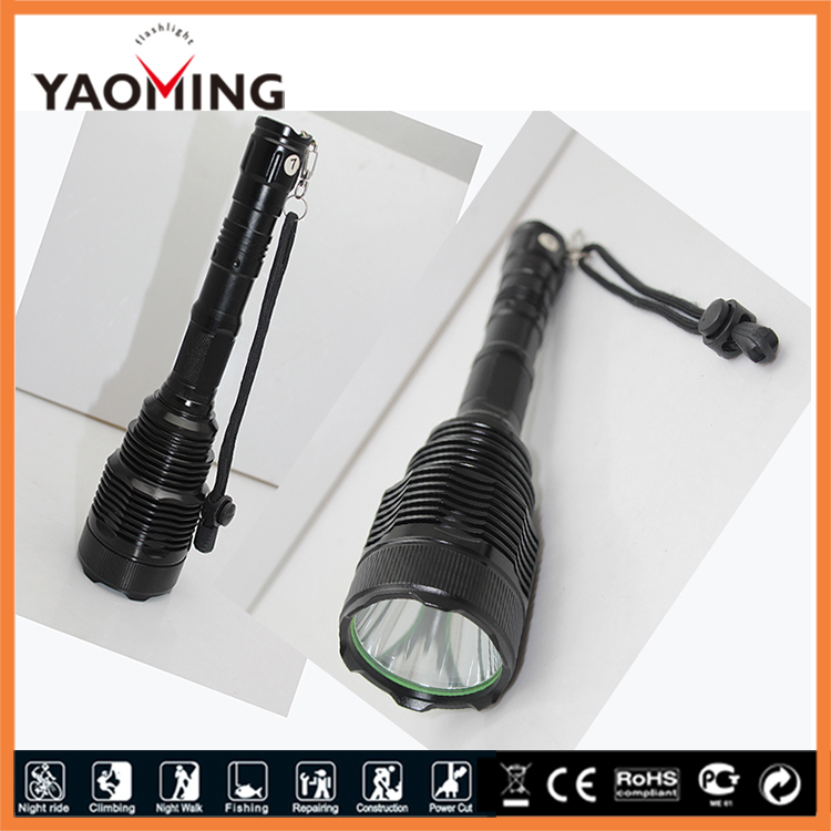 higher power Cree Xml T6 led flashlight torch camping lamp 1800 lumen latern rechargeable by 2X18650 batteries free shipping high power cree led hand lamp focus adjustable outdoor camping searchlight waterproof rechargeable hand lamp by 2 18650 torch