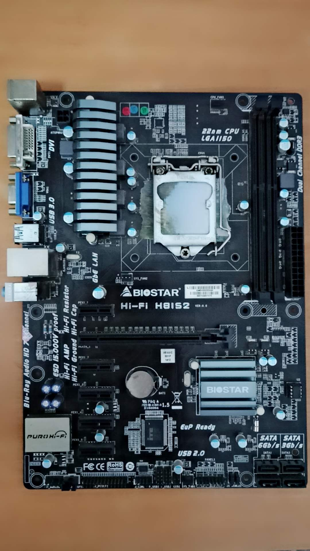 Clean Up Inventory, Biostar HIFI H81S2 Motherboard, Support Overclocking, Special Sale