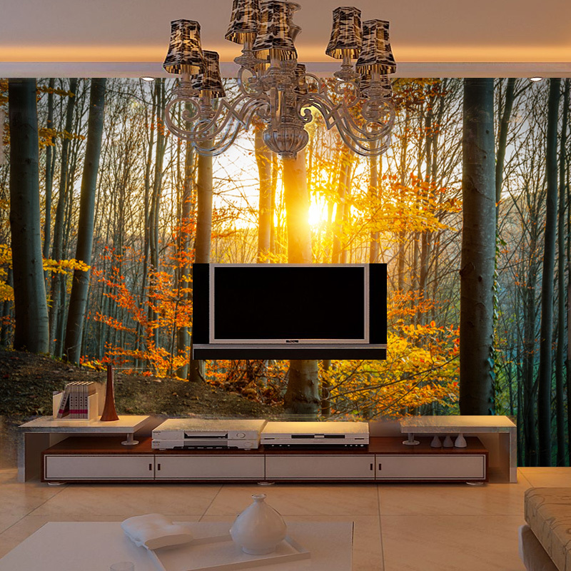 Online get cheap nature wallpaper murals for Cheap wall mural posters