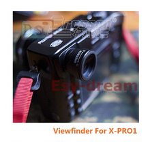 Ống Ngắm Phóng Đại Kính Lúp Kính Mắt Ngắm Eyecup Có Điều Chỉnh Zoom Diop 1.0 1.6X Cho Máy Ảnh FujiFilm Fuji X pro1 Xpro1 GF670