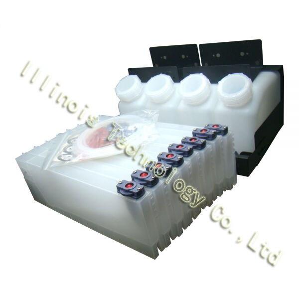 Roland Bulk Ink System--4 Bottles, 8 Cartridges printer parts roland roland fd 8
