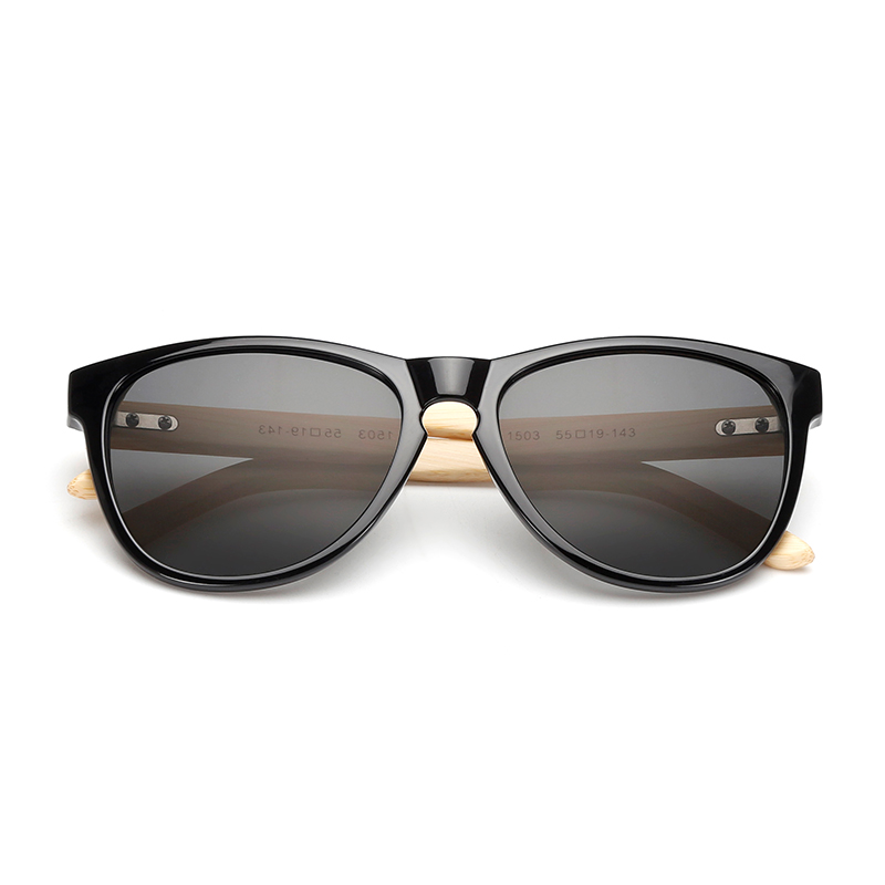 bddf944bcb Nuevo regalo personalizado nombre rectángulo Retro espejo gafas de sol  mujer ecológico hecho a mano de bambú armas gafas de sol hombres L1503KP en  De los ...