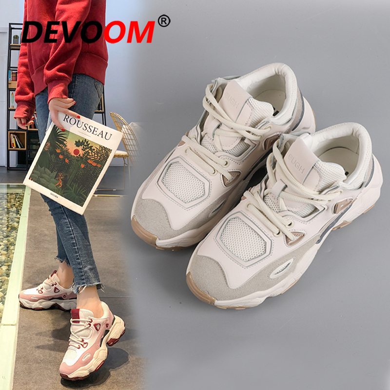 Sport Shoes Woman New Running Shoes For Women Sport White Sneakers Basket Femme Beginner Rubber Fashion