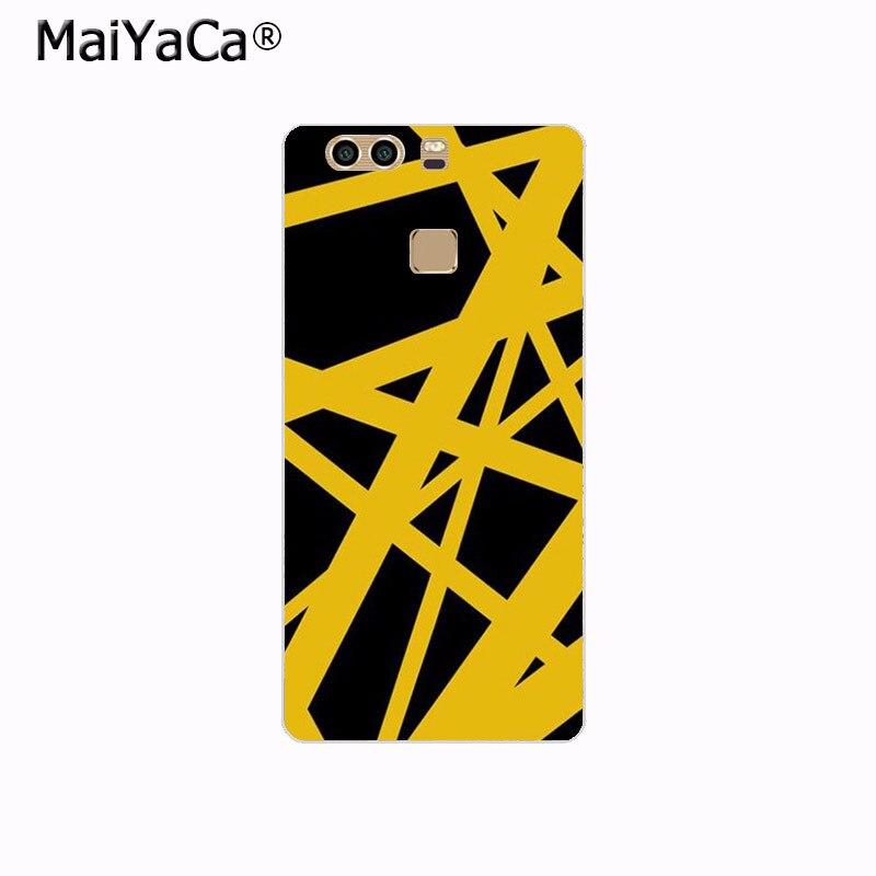 513353b0bba MaiYaCa Eddie Van Halen Graphic Guitar Phone case Accessories for ...