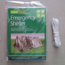 Аварийное одеяло водонепроницаемое 240*150 см дорожный набор средство для выживания на открытом воздухе кемпинг альпинистское оборудование занавес палатка снаряжение