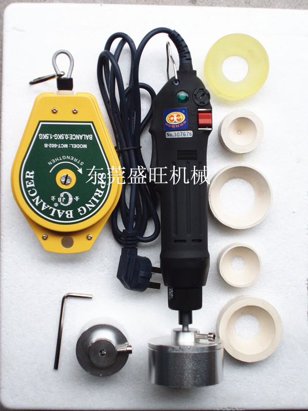 Portable automatic electric bottle capping machine Cap screwing Machine electric cap sealing machine 2016 manual plastic bottle capping sealing machine handheld cap screwing machine 10 50mm free ship