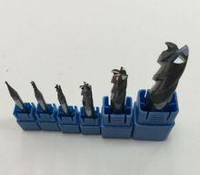 New   HRC50 4flute 3mmX4X8 X50MM Coat Carbide End millng CNC Milling