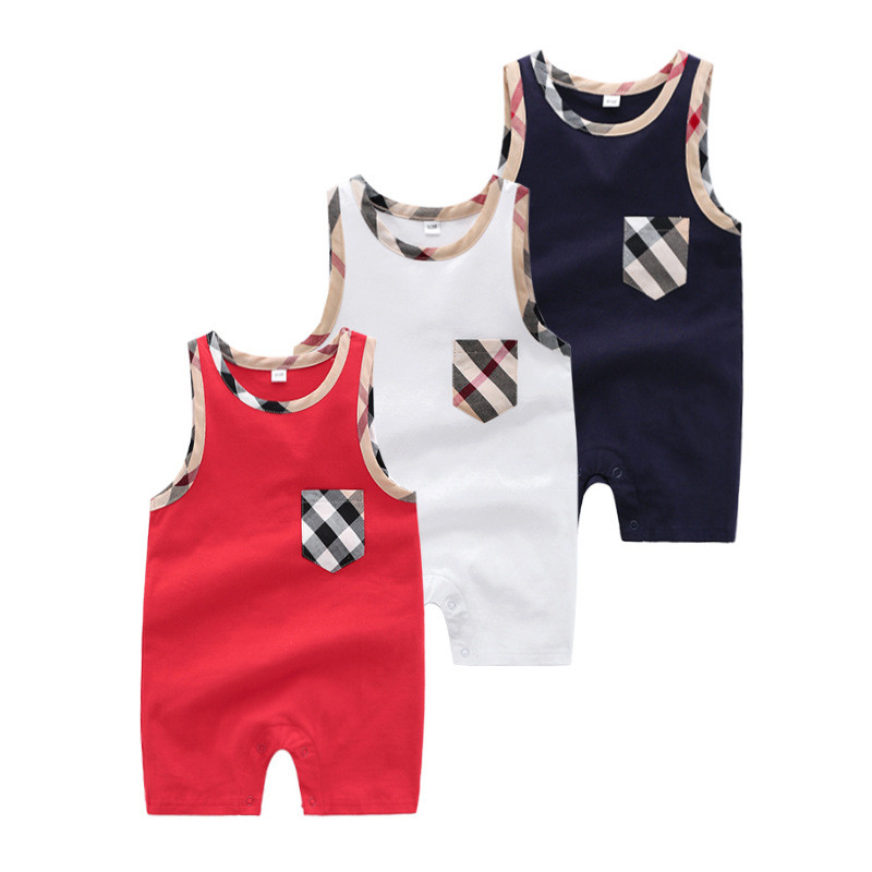 Summer Jumpsuit for Newborns Boys Clothes Tiny Cottons Toddler Kids   Rompers   Children One Piece Outfits Infant Bebes Sleeveless