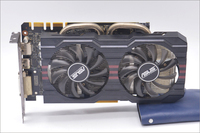 Used Original ASUS GTX 760 2GB GDDR5 256Bit DVI HDMI Graphic Card
