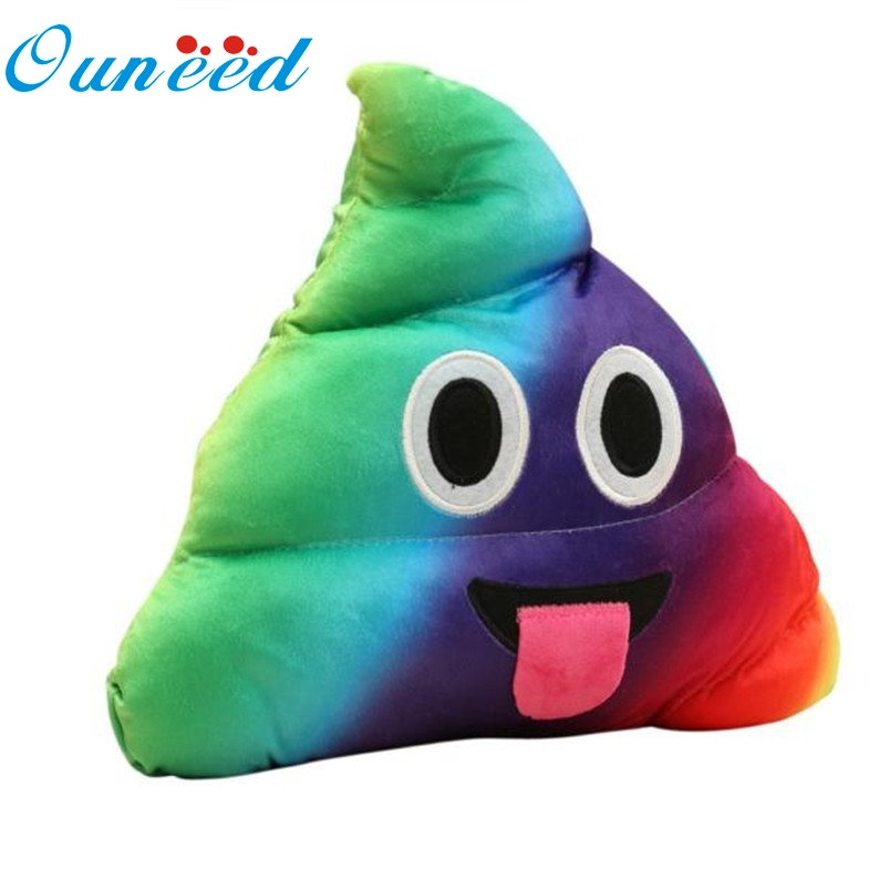 Poop Emoji Throw Pillow : Ouneed Mini Emoji Pillow Cushion Poop Shape Pillow Doll Toy Throw Pillow Amusing emotion Poo ...