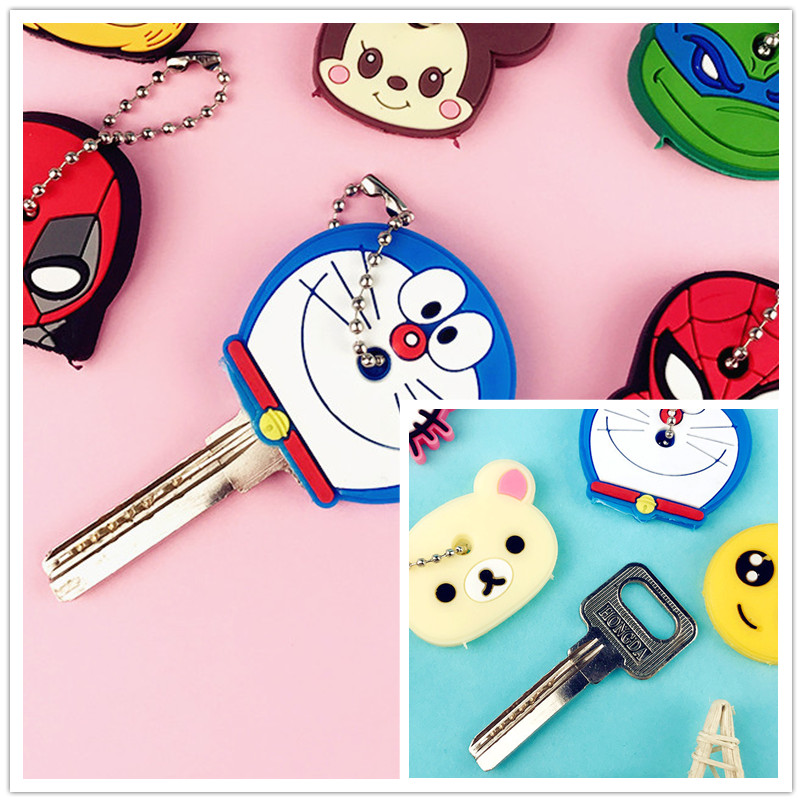 Cute Creative Holder PVC Soft Keychain Ornament Pendant