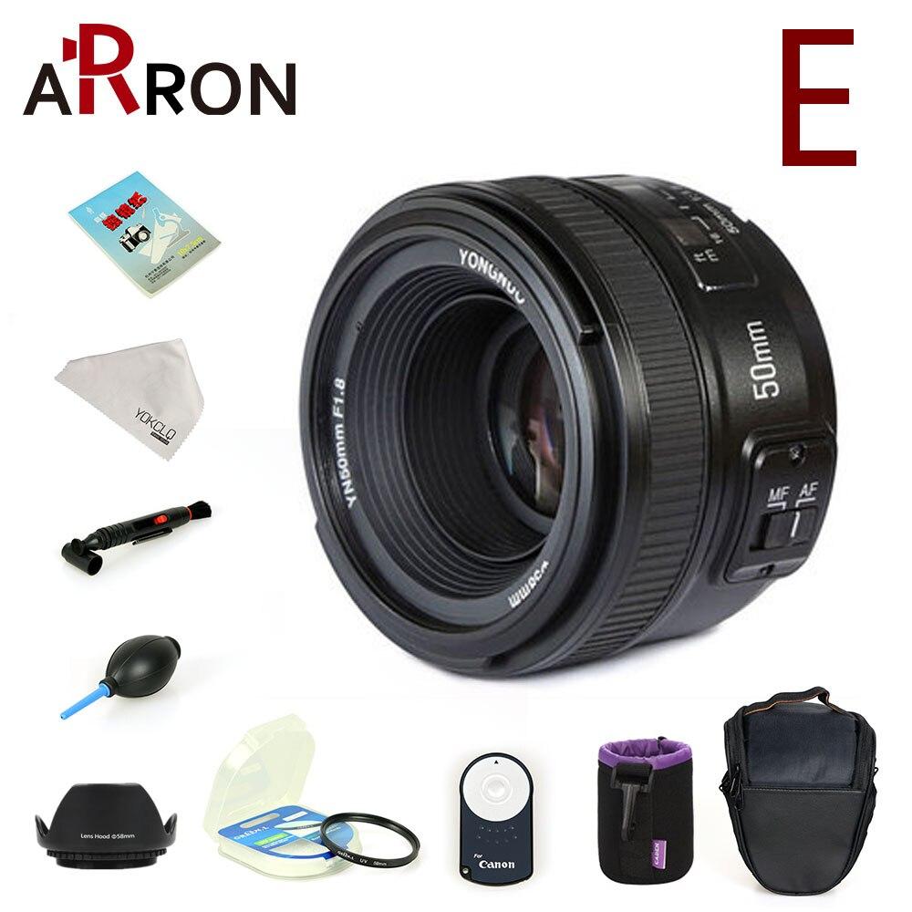 YONGNUO YN50mm Objectif mise au point fixe F1.8 Grande Ouverture Auto Focus Lens Pour Nikon Canon